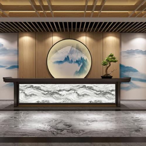 重庆渝北区美容院欧宝体育客户端设计效果图