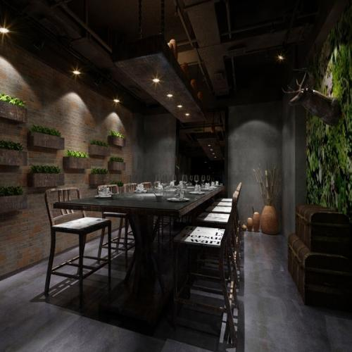 重庆渝中区解放碑LOFT餐厅欧宝体育客户端设计