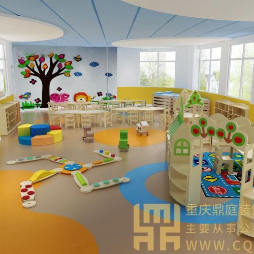 幼儿园教室室内效果图